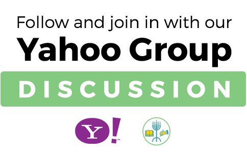 Follow and join in with our Yahoo Group Discussion