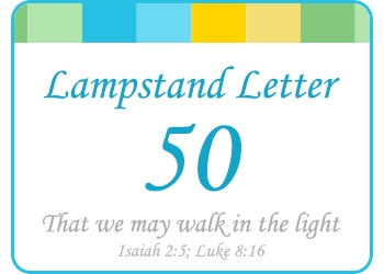 LAMPSTAND LETTER 50