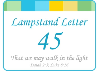 LAMPSTAND LETTER 45