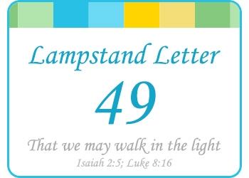 LAMPSTAND LETTER 49