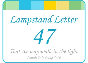 LAMPSTAND LETTER 47