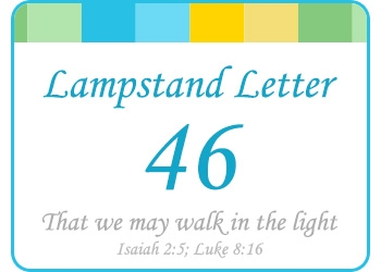 LAMPSTAND LETTER 46